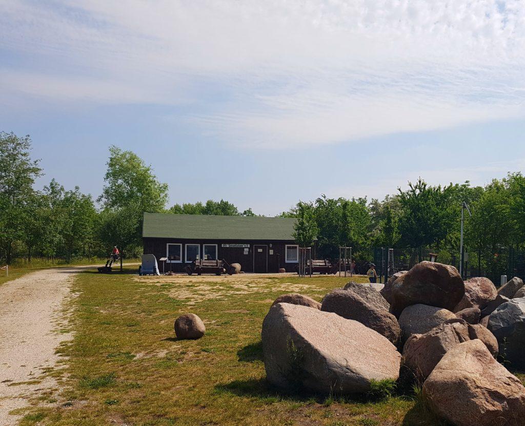 Wetterschutzhütte Halbinsel Geiseltalsee