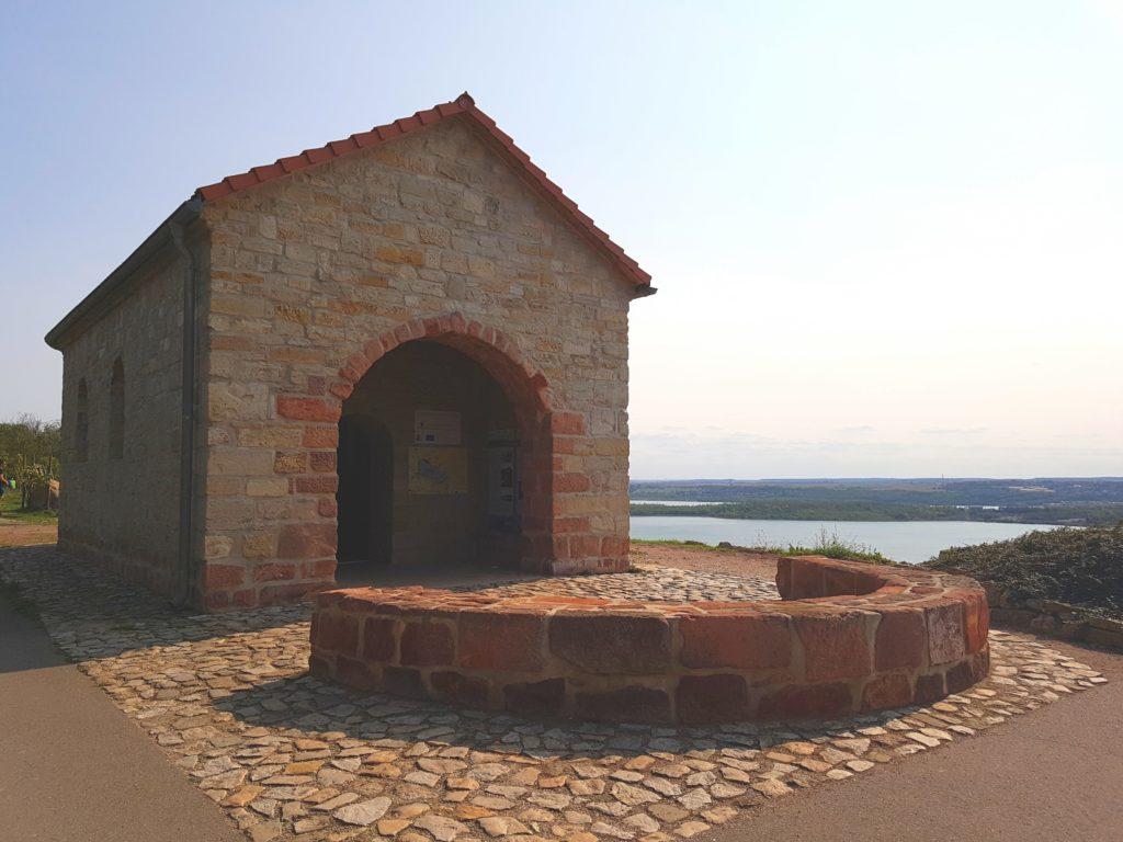 Begegnungsstätte des Jakobsweges am Geiseltalsee Sachsen-Anhalt