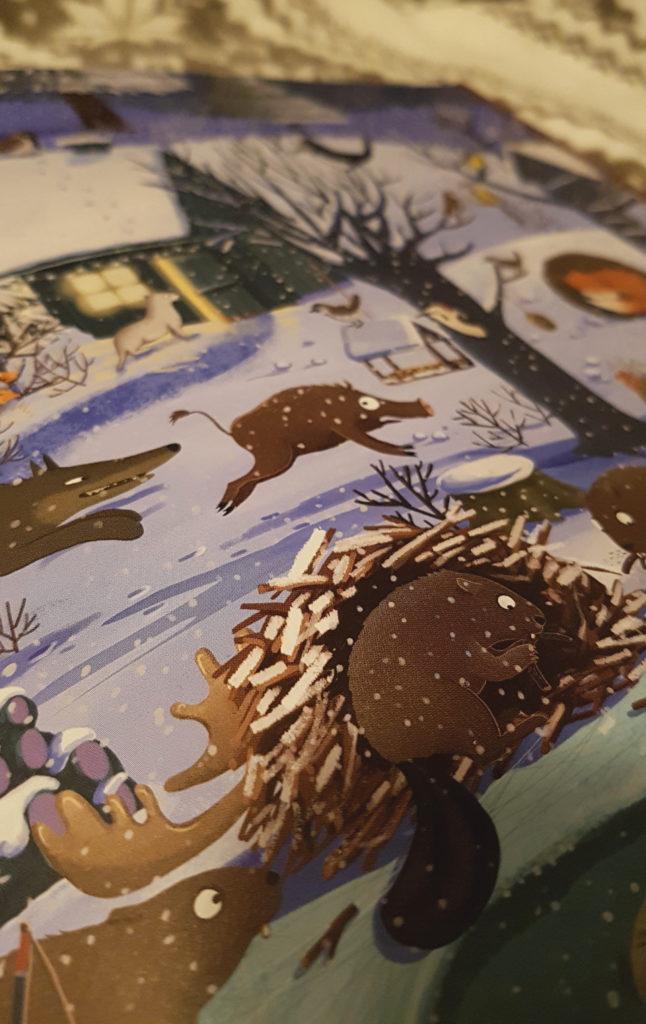 Wimmelbuch, Ein Jahr im Wald, Buchempfehlung, Naturbuch für Kinder