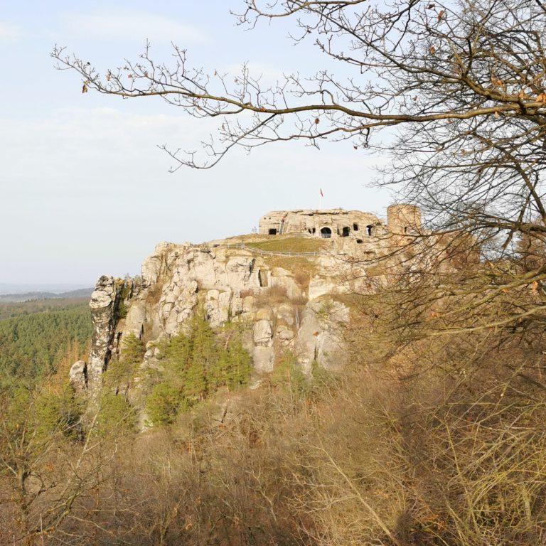 wandern mit kindern im Harz. Burg Regenstein